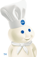Doughboy looking to the right