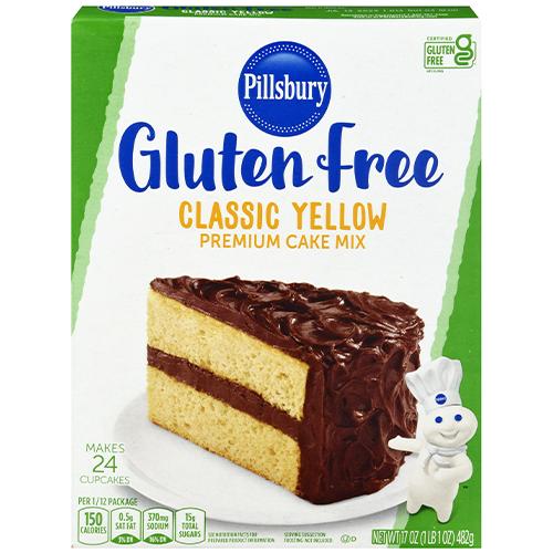 Gluten Free Classic Yellow Cake Mix