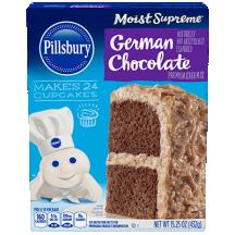 German Chocolate Flavored Premium Cake Mix thumbnail