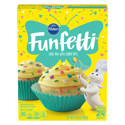 <strong>Funfetti<sup>®</sup></strong> Spring Cake Mix