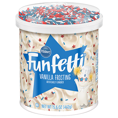 <strong>Funfetti<sup>®</sup> Stars & Stripes<sup>®</sup></strong> Frosting